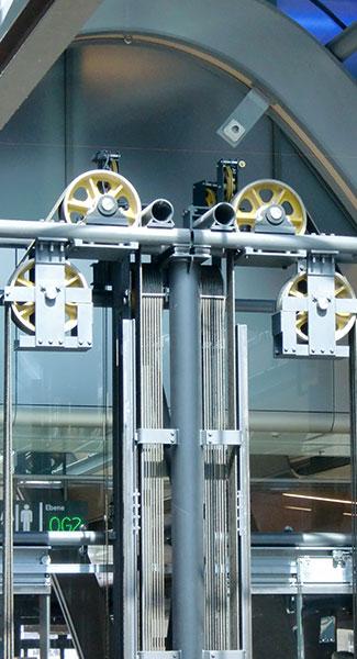 mechanizm winda koła obrotowe